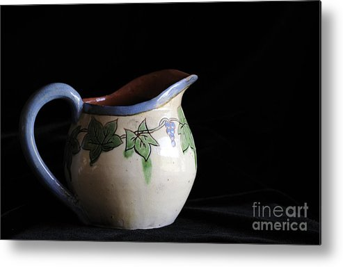 Pitcher Metal Print featuring the photograph Vintage Pitcher by Nancy Greenland