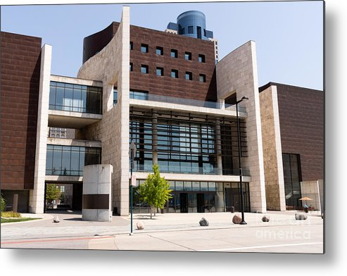 2012 Metal Print featuring the photograph Cincinnati National Underground Railroad Freedom Center by Paul Velgos
