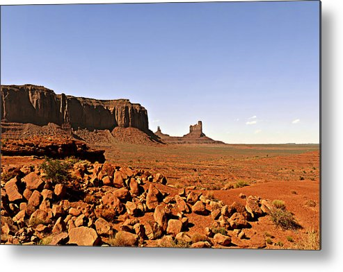 Monument Metal Print featuring the photograph Utah's Iconic Monument Valley by Christine Till