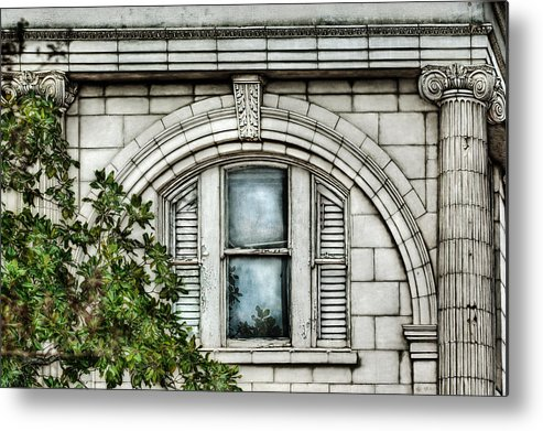 Window Metal Print featuring the photograph Elegance In The French Quarter by Brenda Bryant