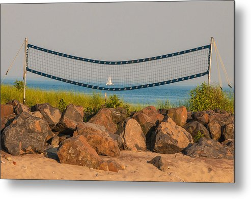 Westport Ct Metal Print featuring the photograph A Summers End by Terry Cosgrave