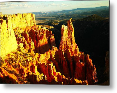 Southwestern Art Metal Print featuring the photograph An October View by Jeff Swan