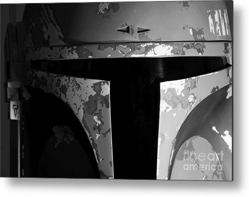 Boba Metal Print featuring the photograph Boba Fett Helmet 29 by Micah May