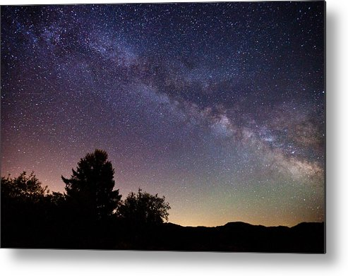 Milky Way Metal Print featuring the photograph Coastal Skies by Darren White