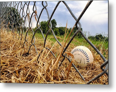 Baseball Metal Print featuring the photograph Field Of Dreams by Jason Politte