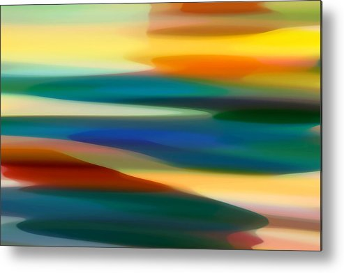 Fury Metal Print featuring the painting Fury Seascape 7 by Amy Vangsgard