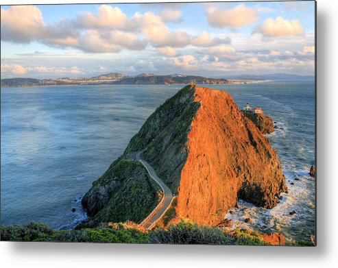 Bonita Point Metal Print featuring the photograph Gibraltar by JC Findley