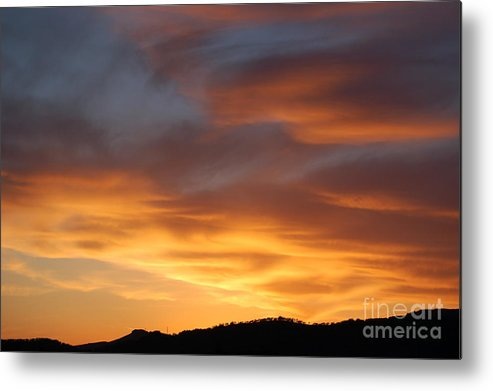 Sunset Metal Print featuring the photograph Gods Paintbrush by Jordan Rusin