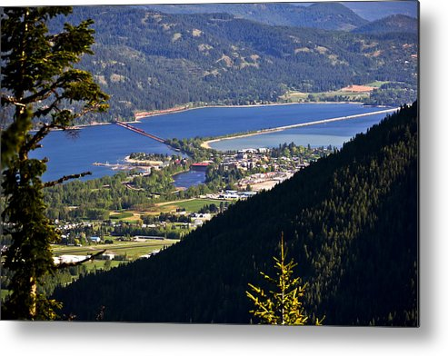 Sandpoint Metal Print featuring the photograph Looking Down On Sandpoint by Albert Seger
