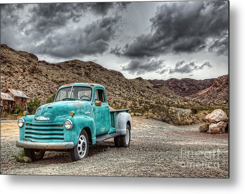 Old Metal Print featuring the photograph Old Reliable by Eddie Yerkish