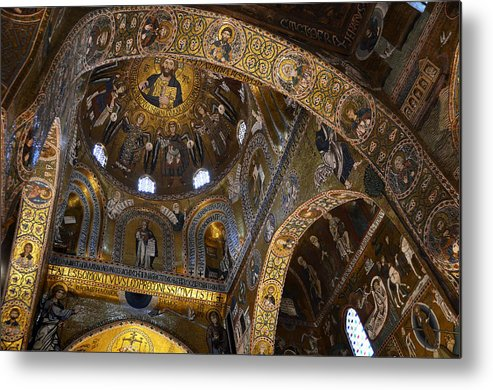 Palace Metal Print featuring the photograph Palatine Chapel by RicardMN Photography