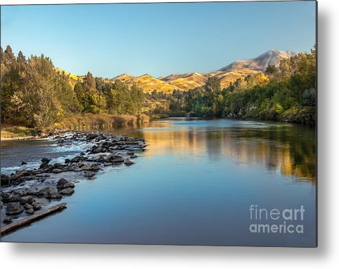 Idaho Metal Print featuring the photograph Peaceful River by Robert Bales