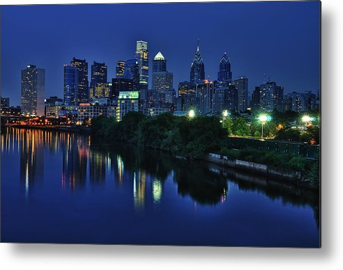 Philadelphia Metal Print featuring the photograph Philly Skyline by Mark Fuller