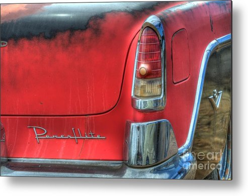 Car Metal Print featuring the photograph Powerflite by Bob Christopher