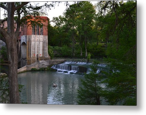 Architectur Metal Print featuring the photograph Seguin Tx 03 by Shawn Marlow