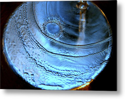 Water Photography Metal Print featuring the photograph Splash by Kathy Peltomaa Lewis