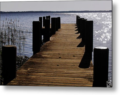 St Metal Print featuring the photograph St Johns River Florida - A Chain Of Lakes by Christine Till