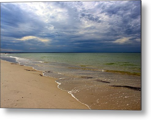 Mayflower Beach Metal Print featuring the photograph Stormy Mayflower Beach by Amazing Jules