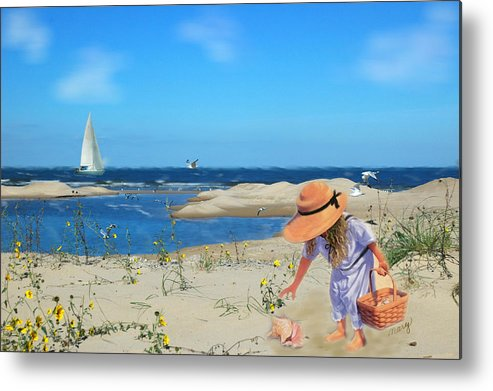 Indiana Dunes Metal Print featuring the photograph The Dunes by Mary Timman