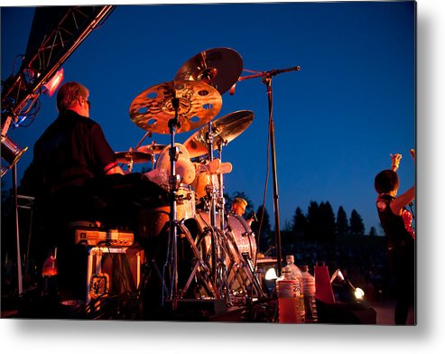 The Kingpins Metal Print featuring the photograph The Fabulous Kingpins - 2013 by David Patterson