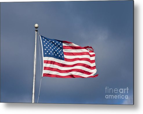 America Metal Print featuring the photograph The United States Of America by Benjamin Reed