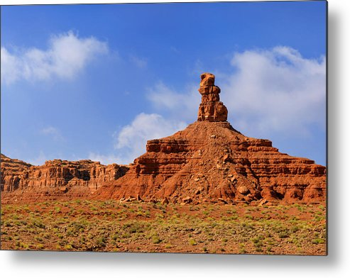 Valley Metal Print featuring the photograph Valley Of The Gods Utah by Christine Till