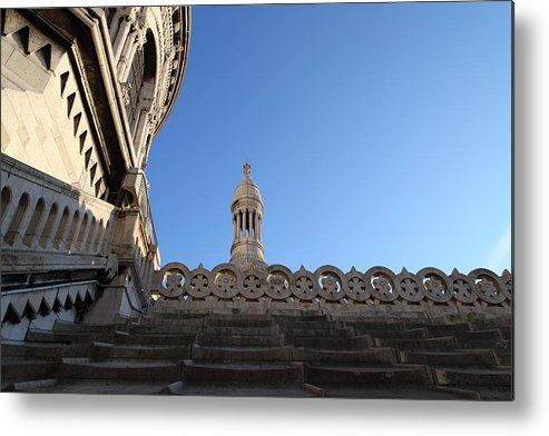 And Metal Print featuring the photograph View From Basilica Of The Sacred Heart Of Paris - Sacre Coeur - Paris France - 01134 by DC Photographer