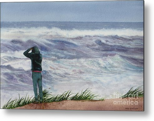 Sea Metal Print featuring the painting Viewing Nemo by Karol Wyckoff