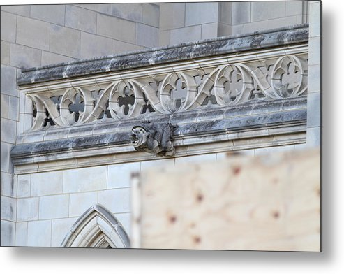 Alter Metal Print featuring the photograph Washington National Cathedral - Washington Dc - 01134 by DC Photographer