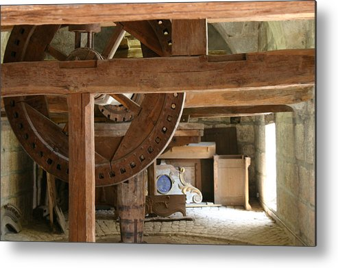 Besancon Metal Print featuring the photograph Workshop In Besancon by A Morddel