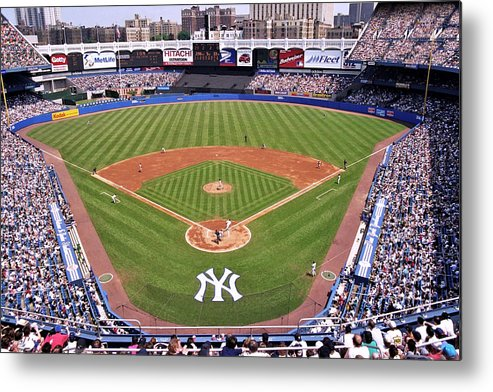 Yankee Stadium Metal Print featuring the photograph Yankee Stadium by Allen Beatty