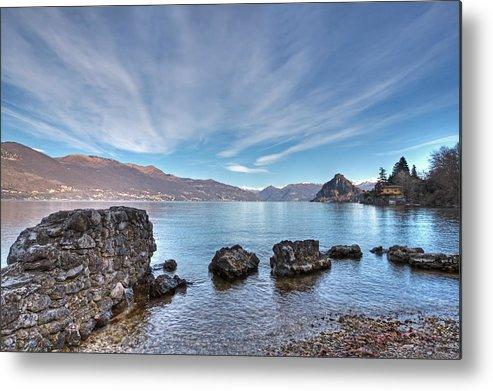 Lago Maggiore Metal Print featuring the photograph Lake Maggiore by Joana Kruse