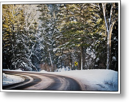 Nature Metal Print featuring the photograph Around The Bend by Lisa Spencer