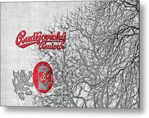 Alcoholic Metal Print featuring the photograph Budweis Czech Republic - 700 Years Of Brewing Tradition by Christine Till