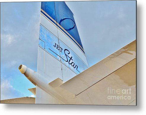Lockheed Metal Print featuring the photograph Jet Star by Lynda Dawson-Youngclaus