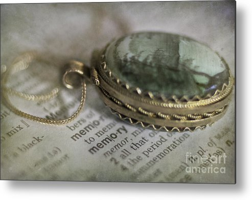 Jewelry Metal Print featuring the photograph Memory by Elena Nosyreva