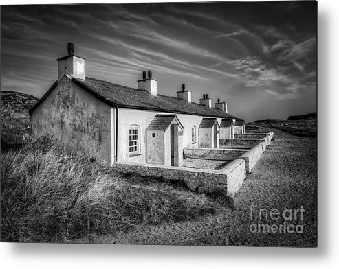 Anglesey Metal Print featuring the photograph Pilot Cottages by Adrian Evans