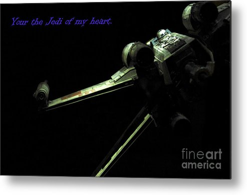 Star Wars Metal Print featuring the photograph Star Wars Card by Micah May
