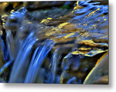 Waterfall Metal Print featuring the photograph Taylor Waterfall by David Clark