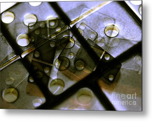 Dominoes Metal Print featuring the photograph The Bone Pile by Judi Bagwell