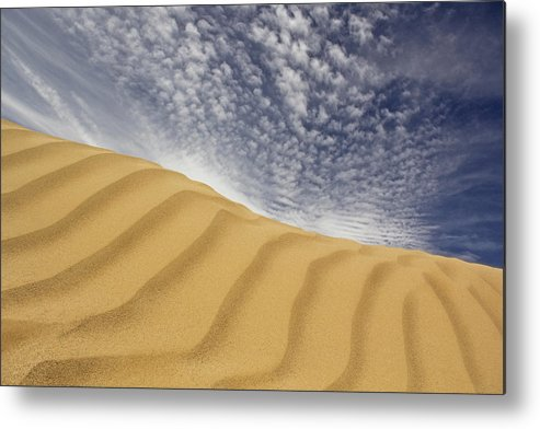 Sand Dune Metal Print featuring the photograph The Dunes by Mike McGlothlen