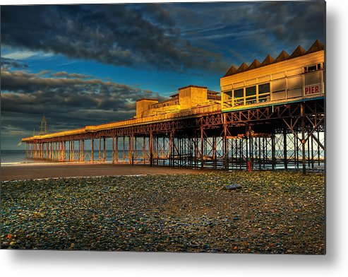 Beach Metal Print featuring the photograph Victorian Pier by Adrian Evans