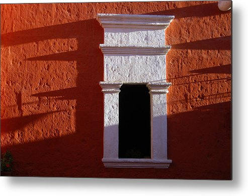 Monastery Metal Print featuring the photograph White Window by RicardMN Photography