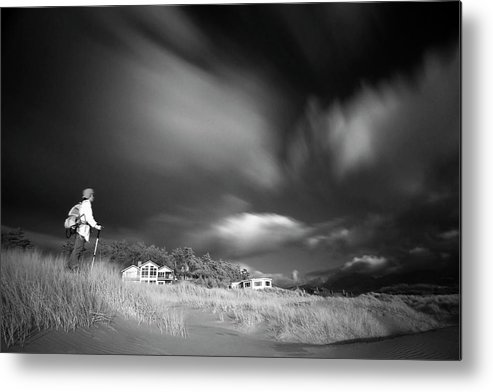 Infrared Metal Print featuring the photograph Destination by William Lee
