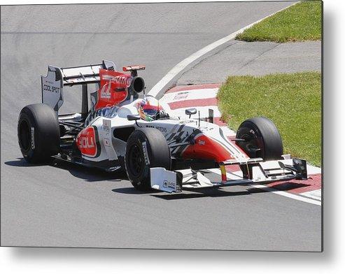 Formula 1 Metal Print featuring the photograph Hrt by Art Ferrier