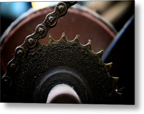 Machinery Metal Print featuring the photograph Industrial Revolution by Odd Jeppesen