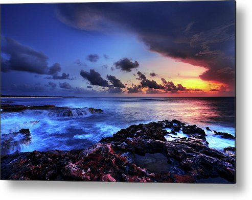 Chad Dutson Metal Print featuring the photograph Last Light by Chad Dutson