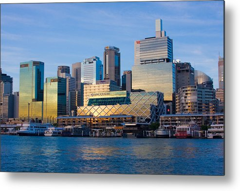 Sunset Metal Print featuring the photograph Macquarie Sunset by Charles Warren