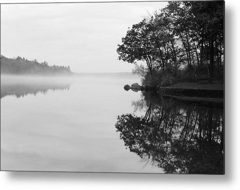 Douglas Metal Print featuring the photograph Misty Cove by Luke Moore