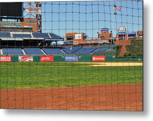 Philadelphia Metal Print featuring the photograph Phillies by Brynn Ditsche